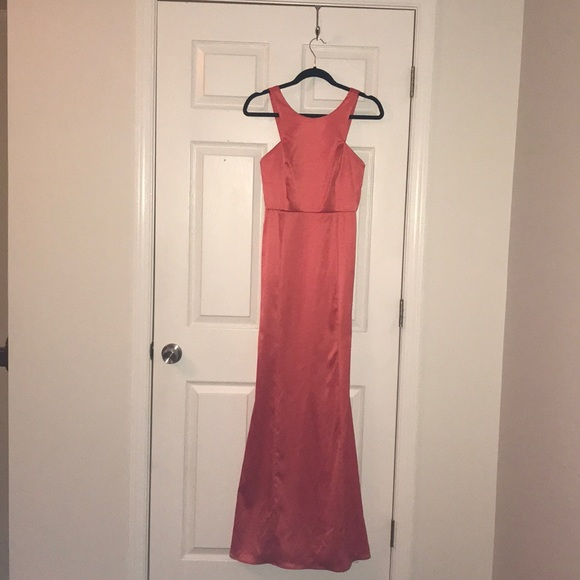 BCBGeneration Dresses   Coral Evening Gown   Poshmark